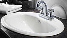 Bathroom Washbasins and Faucets